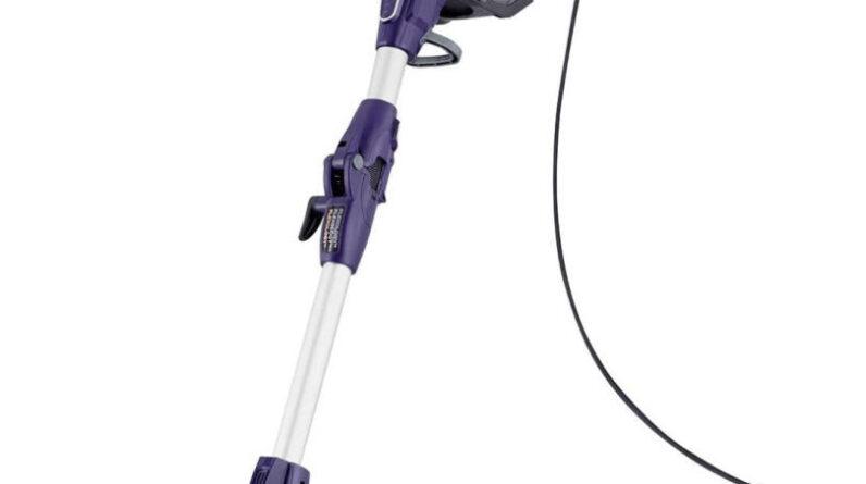 Stick Vacuum Cleaner 115° – Shark Corded Stick Vacuum Cleaner [HV390UK] Lightweight, Purple £120.79 at Amazon