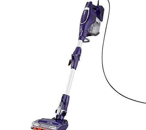 Stick Vacuum Cleaner 112° – Shark Corded Stick Vacuum Cleaner [HV390UK] Lightweight, Purple with 5 years guarantee for £120.86 delivered @ Amazon