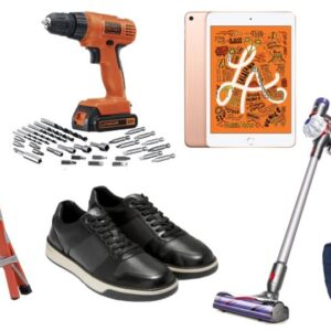 Stick Vacuum Cleaner Daily Deals: Ladders, Vacuum Cleaners, iPad Minis, In Ear Headphones, Cole Haan Sale And More!
